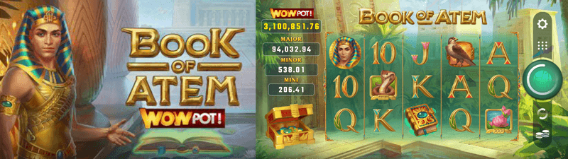 book of atem wowpot slot main