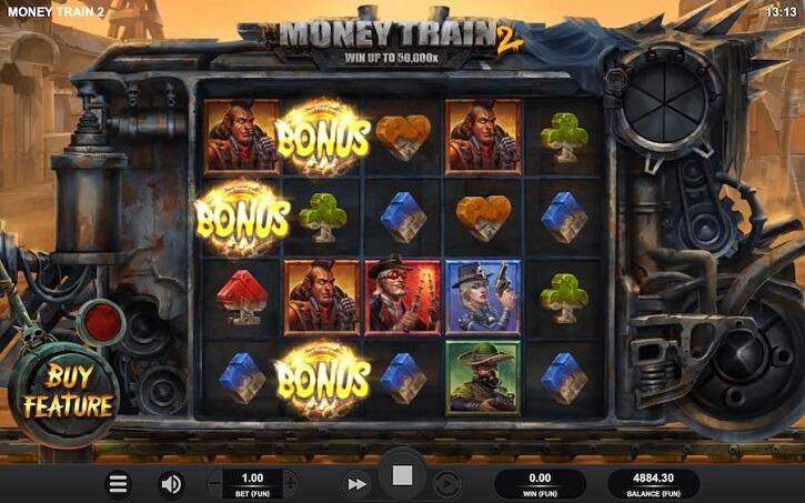 money train 2 slot screen
