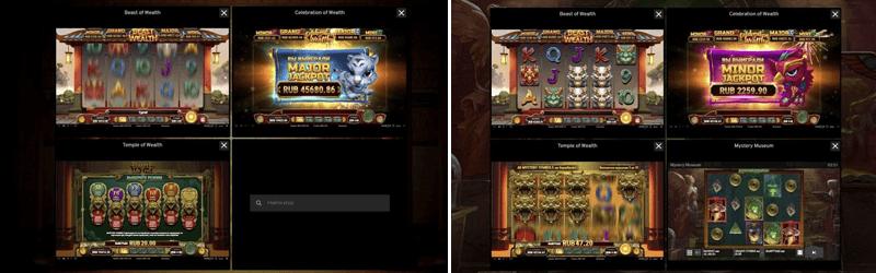 playngo wealth slot multitable desktop