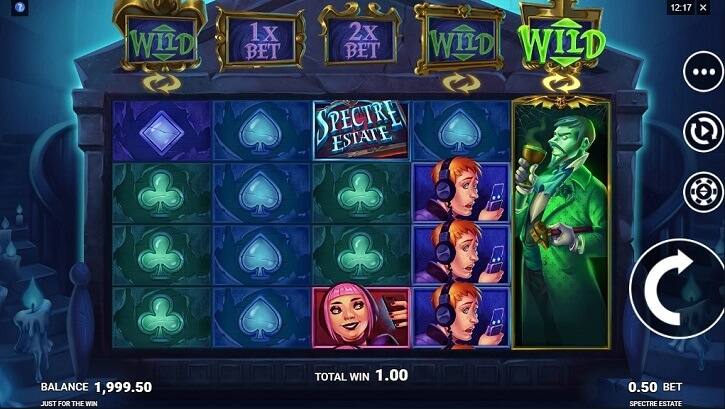spectre estate slot screen
