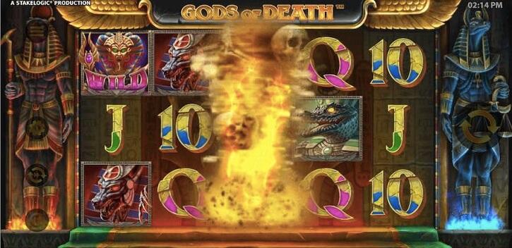 gods of death slot bonus