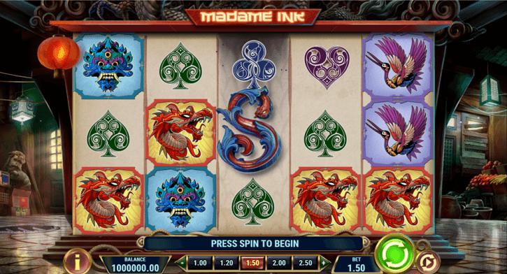 madame ink slot screen