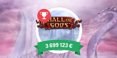 paf kasiino hall of gods