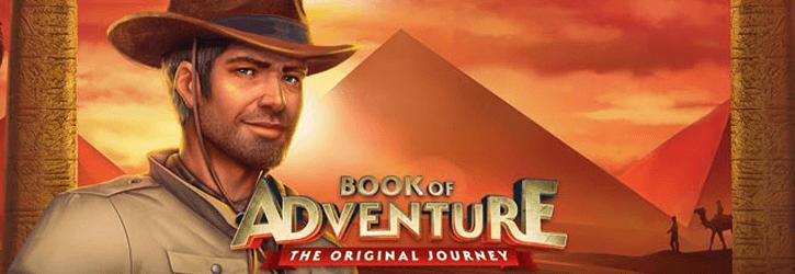 book of adventure slot stakelogic