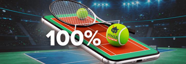 ninja spordiennustus tennis cashback kampaania